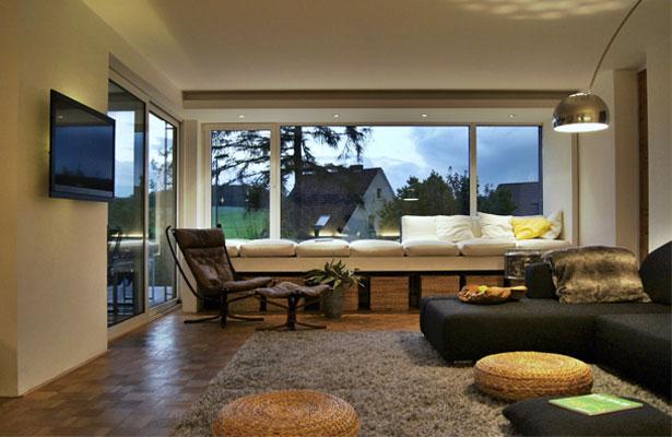 Modernisierung eines bungalows bj 72 bielefeld dornberg for Wohnzimmer 60er 70er